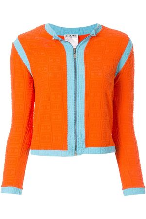 CHANEL Sports Line zip up jacket