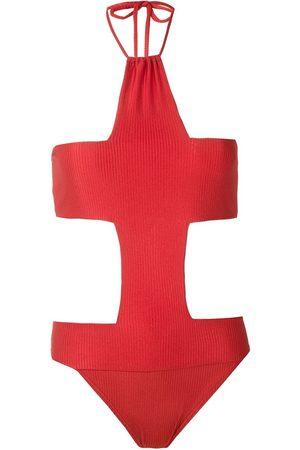 AMIR SLAMA Cruz cut out swimsuit
