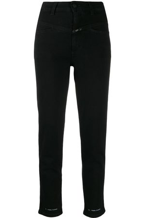 Closed High waisted cropped jeans