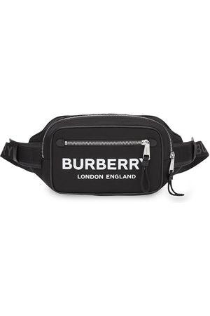 Burberry Heren Riemen - Logo print belt bag
