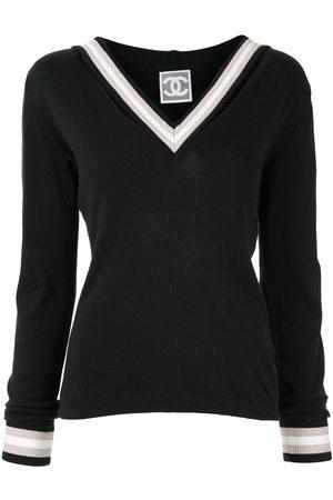 CHANEL Dames Truien - Contrast trim jumper