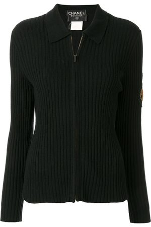 CHANEL 1996 zip-up polo shirt