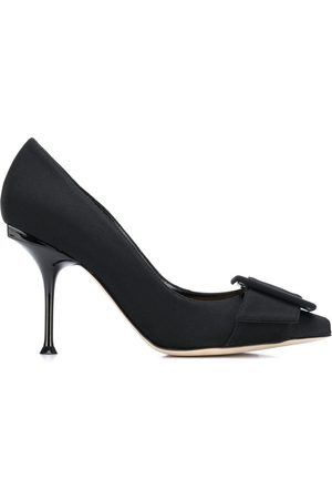 Sergio Rossi 90mm buckled pumps