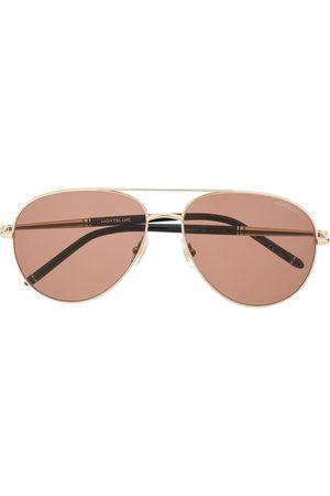 Mont Blanc Aviator sunglasses