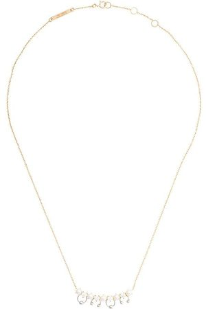 DELFINA DELETTREZ 18kt yellow Two-in-one pearl and diamond necklace