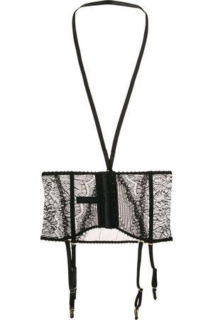 MAISON CLOSE Harnessed lace waist cincher