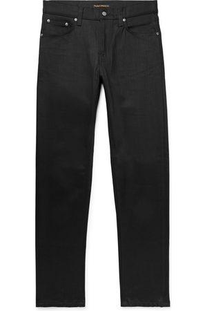 Nudie Heren Slim - Steady Eddie Ii Slim-fit Tapered Organic Stretch-denim Jeans