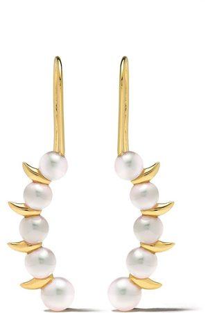 Tasaki 18kt Danger Scorpion earrings
