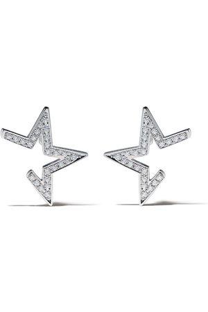 Tasaki 18kt Abstract Star earrings