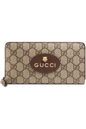 Gucci Heren Portemonnees - Neo Vintage GG Supreme zip around wallet