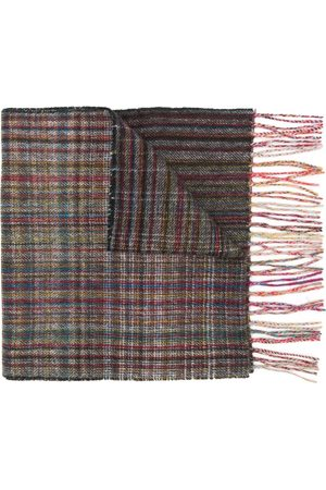 Paul Smith Classic fringed scarf