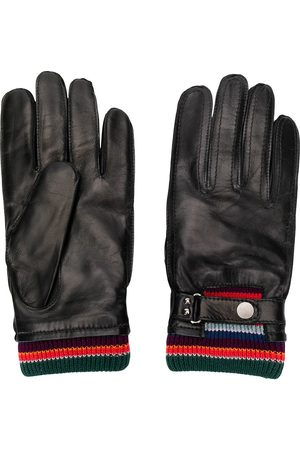 Paul Smith Stripe detailed driving gloves
