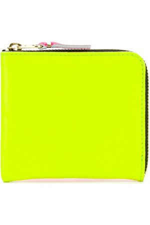 Comme des Garçons Super Fluo zip-around wallet