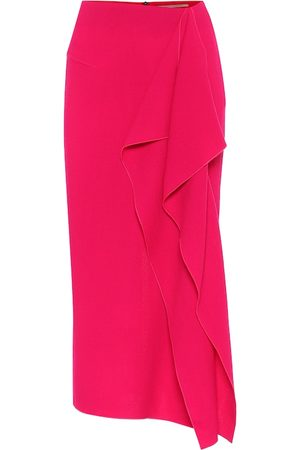 Roland Mouret Exclusive to Mytheresa – Wool-crêpe skirt