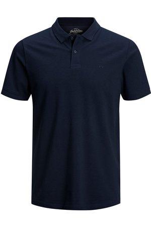 Jack & Jones Heren Poloshirts - Klassieke Polo Heren Blauw