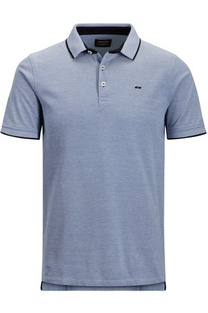 Jack & Jones Klassiek Plus Size Polo Heren Blauw