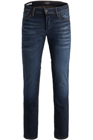 Jack & Jones Tim Original Jos 719 Slim/straight Fit Jeans Heren Blauw