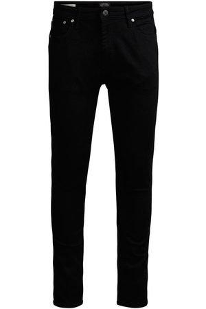Jack & Jones Heren Skinny - Liam Original Am 009 Skinny Jeans Heren Zwart