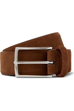 Anderson's Heren Riemen - 3.5cm Suede Belt