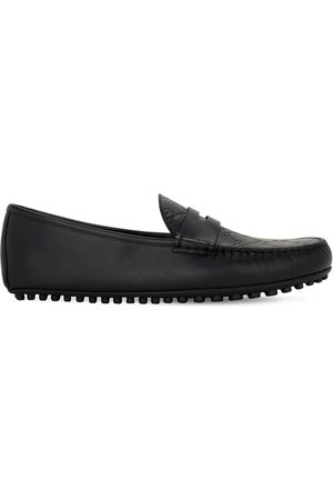 Gucci 50mm Driver Signature Leather Moccasins