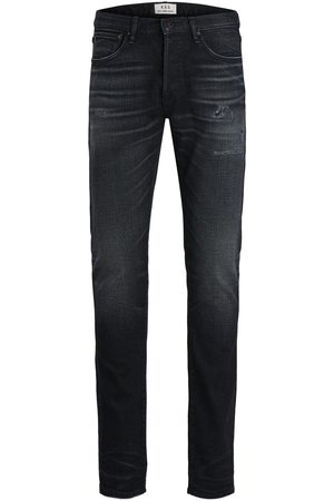 Jack & Jones Heren Slim - Glenn Royal R202 Rdd Slim Fit Jeans Heren Zwart