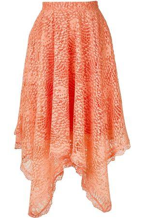 Olympiah Petale lace skirt