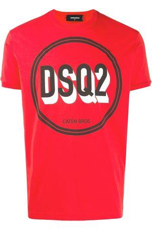 Dsquared2 Circle logo printed T-shirt