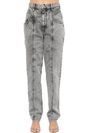 Isabel Marant Dames High waisted - Henoya High Waist Cotton Denim Jeans