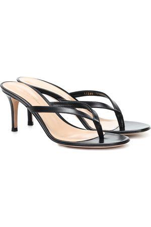 Gianvito Rossi Calypso leather sandals