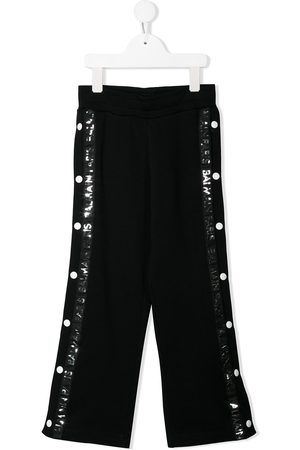 Balmain Button detail track pants