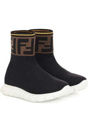 Fendi Jor Boy high-top sock sneakers