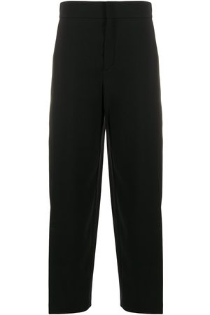 Chloé Wide-leg cropped trousers