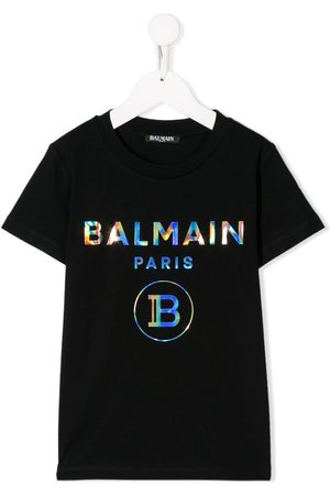 Balmain Meisjes T-shirts - Logo T-shirt