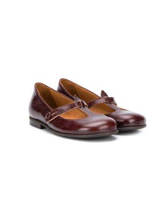 PèPè Button fastening ballerina shoes