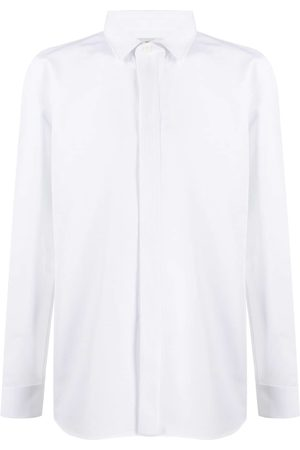Saint Laurent Spread collar shirt