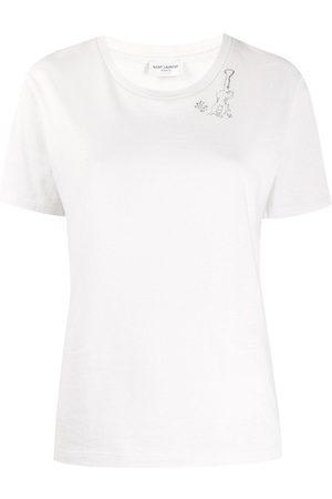 Saint Laurent Guitar motif T-shirt