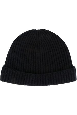 N.PEAL Ribbed hat