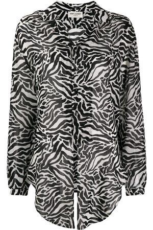 Saint Laurent Animal print shirt
