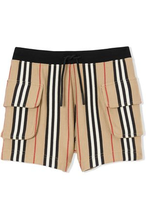 Burberry Icon stripe Drawcord shorts