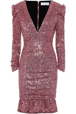 Rebecca Vallance Sequined minidress