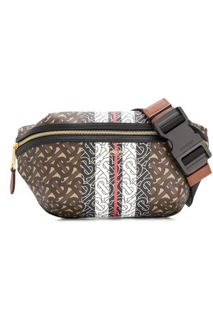 Burberry Medium monogram stripe belt bag