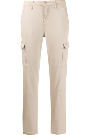 7 for all Mankind Dames Capri's - Cropped slim-fit trousers