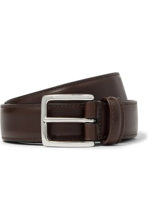 Anderson's 3cm Dark- Leather Belt