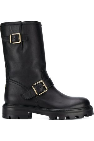 Jimmy choo Buckle detail 40mm biker boots