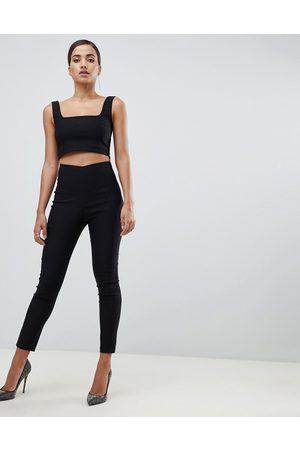 Vesper Tailored trousers co-ord in black