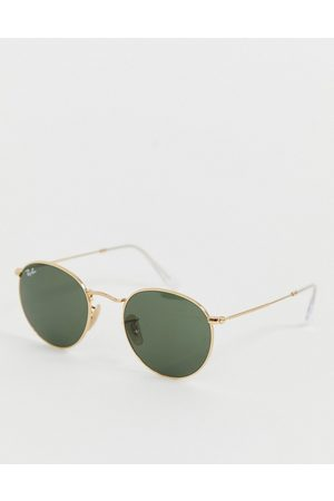 Ray-Ban Round metal sunglasses 0rb3447-Gold