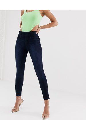 Spanx Ankle grazer jean-ish leggings-Blue