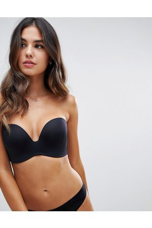 Wonderbra New ultimate strapless bra a - g cup-Black