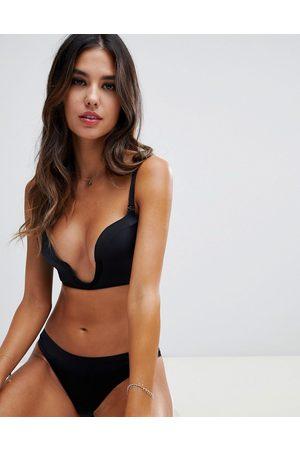 Wonderbra New ultimate plunge bra a - f cup-Black