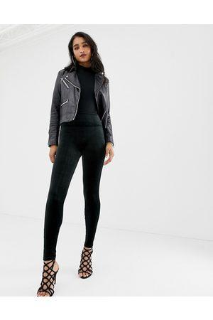 Spanx Velvet high waisted sculpting leggings-Black